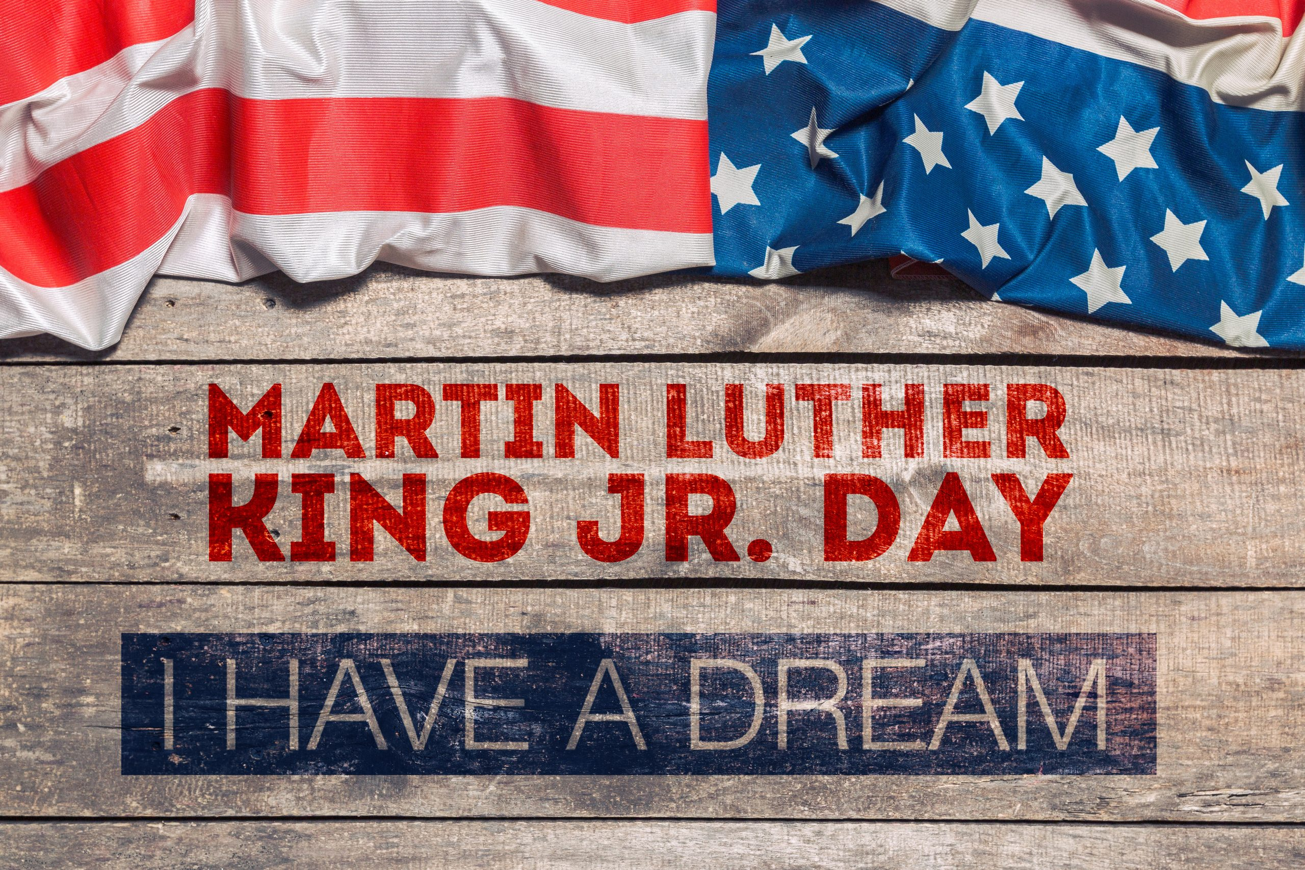 Happy Martin Luther King Day Background Homeschool