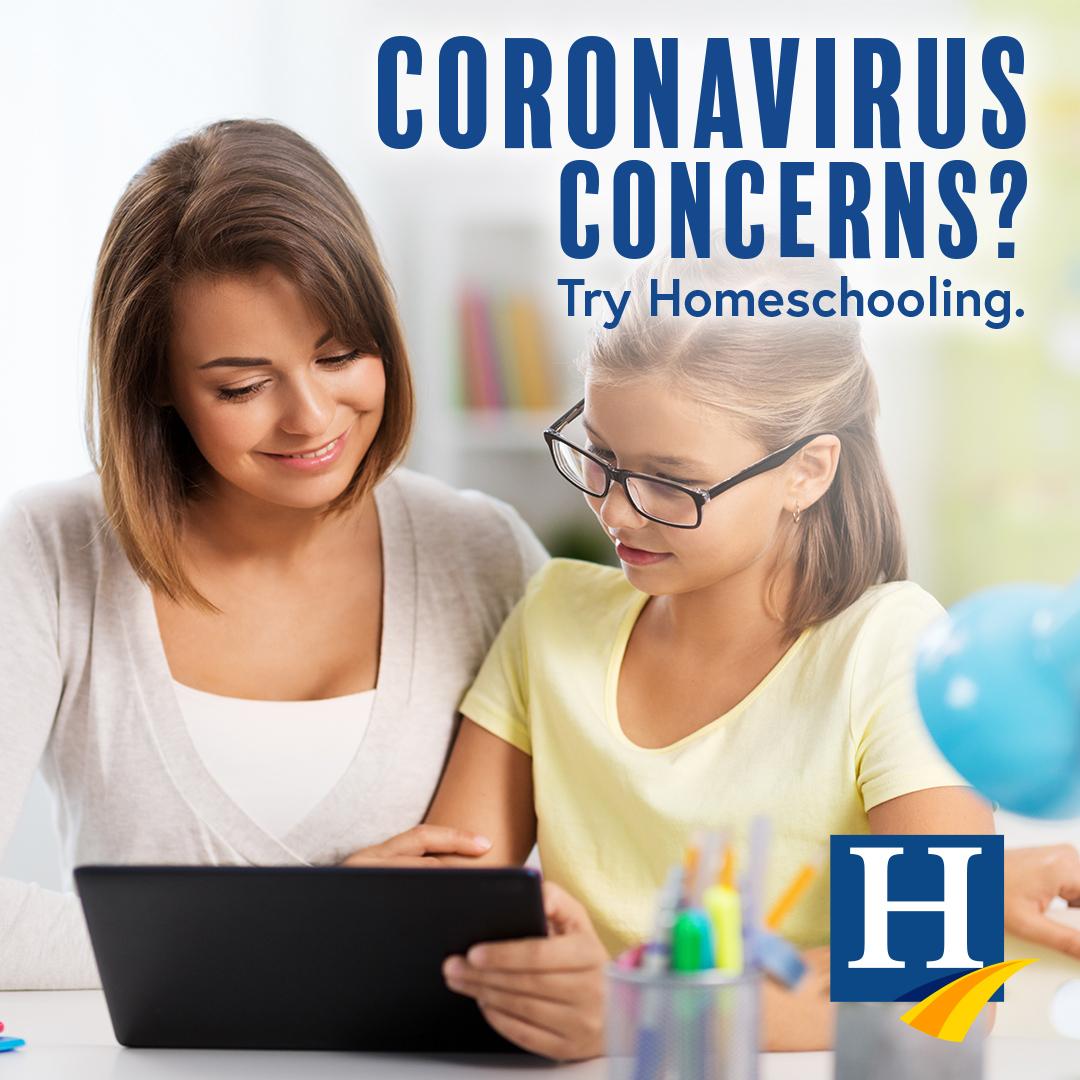 Coronavirus Emergency Homeschool Solutions
