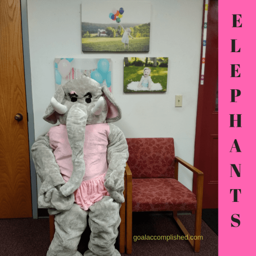 Halloween parenting tips: A person in an elephant costume could be scary to a young child on Halloween