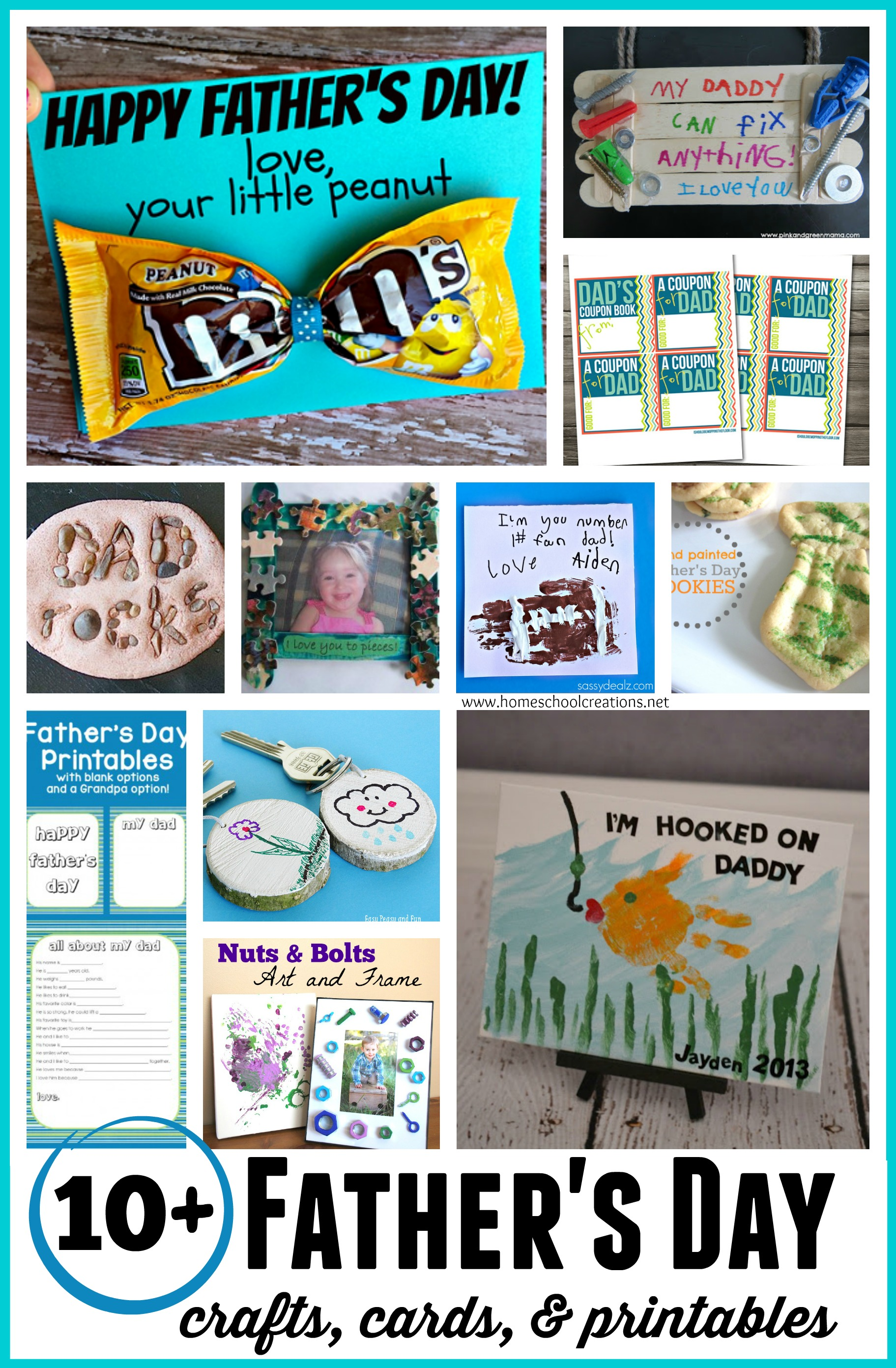 Father S Day Crafts Cards And Printables