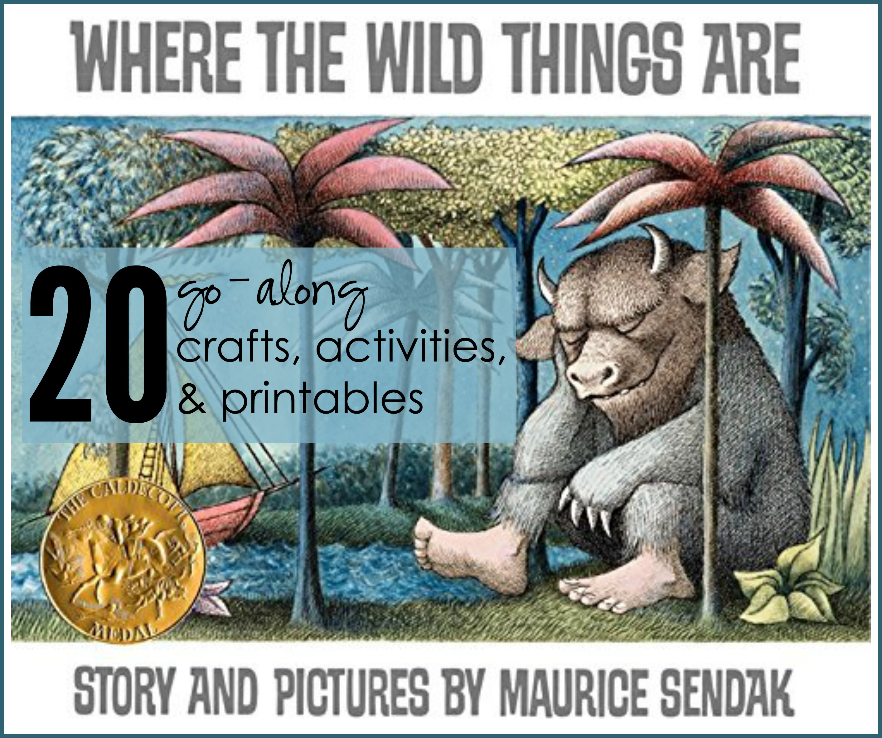 20 Activities Crafts And Printables For Where The Wild Things Are