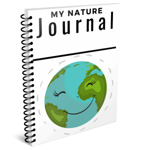 Kids nature journal for emerging readers and writers!