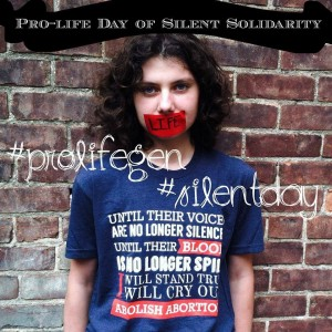 pro life day silent