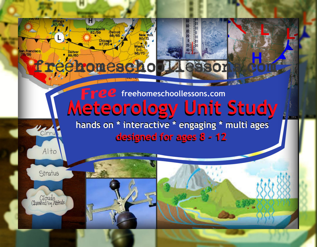 Weather Meteorology Science Unit Study Free Home School Curriculum
