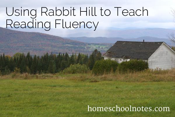Using Rabbit Hill to Teach Reading Fluency