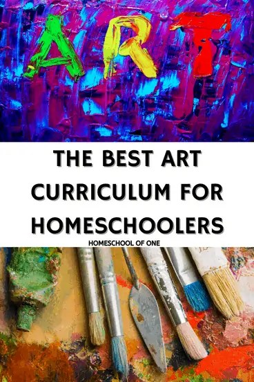 the best art curriculum for homeschool kids