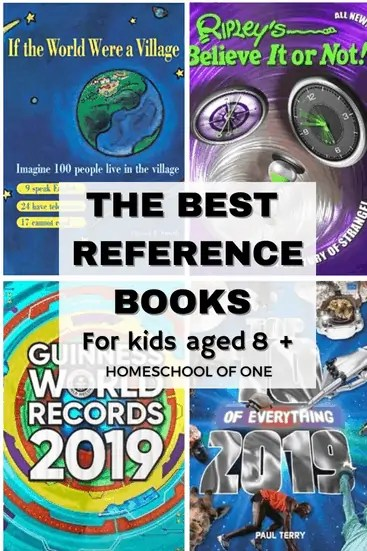 The best reference books for kids aged 8 and over. The best books for 9 year old boys