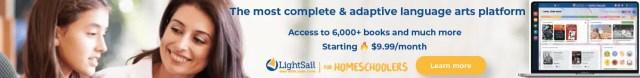 Adaptive language arts program - Lightsail