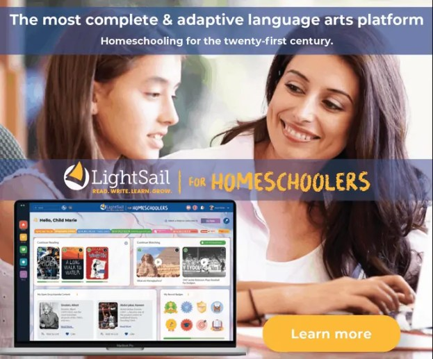 Online reading program with Lightsail