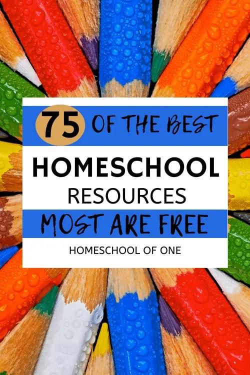 Homeschool UK over 75 educational resources, more than half are free #homeschooluk