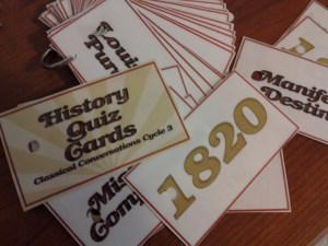 history date cards