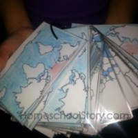 Geography Flash Cards - Review & Giveaway