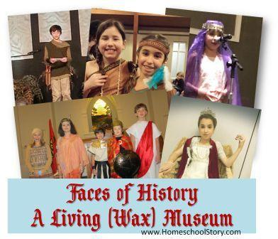 Faces of History - How to Have a Living (Wax) Museum