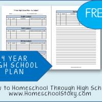 Homeschooling Through High School - The Four Year Plan