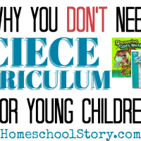 How to Keep Homeschool Science Simple - Why you DO NOT need a curriculum