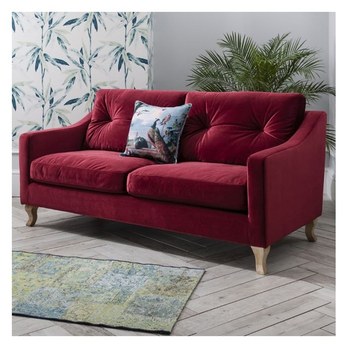 Berry Elodie Velvet Sofa   Collection Of Luxurious Sofas Online Berry Elodie Velvet Sofa