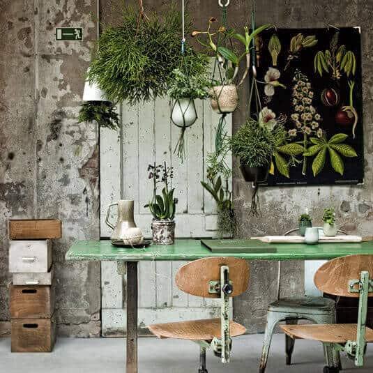 Richt je huis in volgens de botanische woonstijl | woontrend 2016 | www.homeseeds.nl #botanisch #botanic #wonen