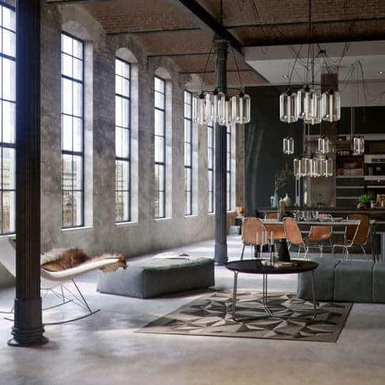 industrieel interieur   robuust-strak-functioneel-ruig  woonstijl  www.homeseeds.nl