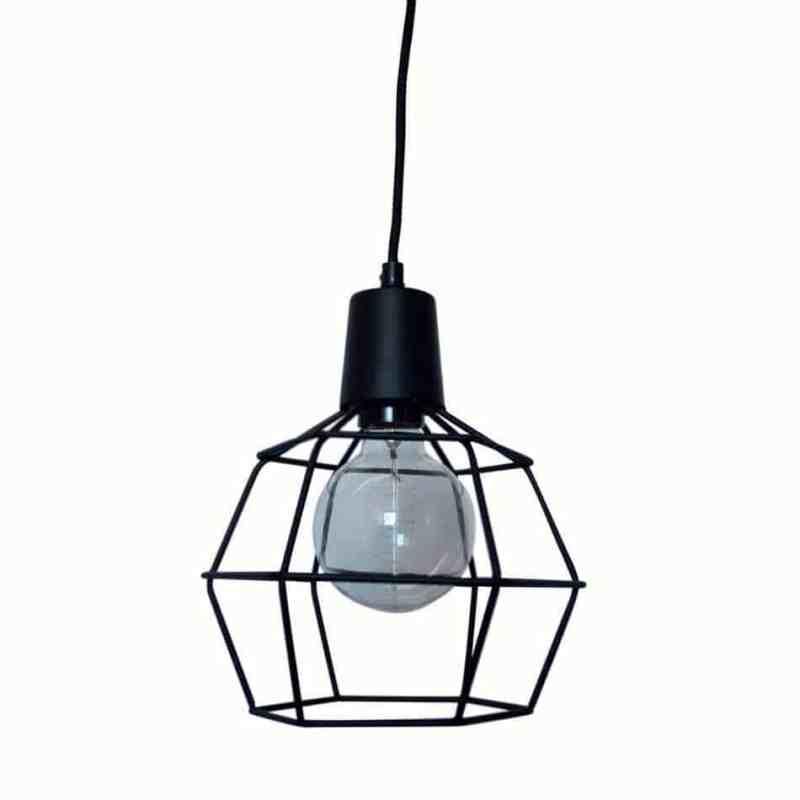 draadlamp Wire zwart van Urban Interiors | Hanglamp | Hanglampen Verlichting | www.homeseeds.nl