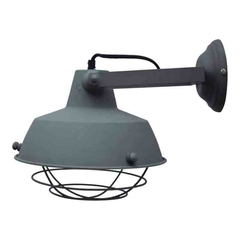 Indsutriele wandlamp prison van urban interiors | verlichting industrieel stoer | www.homeseeds.nl