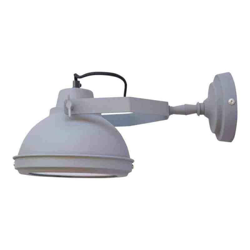 Super vette industriële lamp die zowel aan het plafond als aan de wand bevestigd kan worden   www.homeseeds.nl