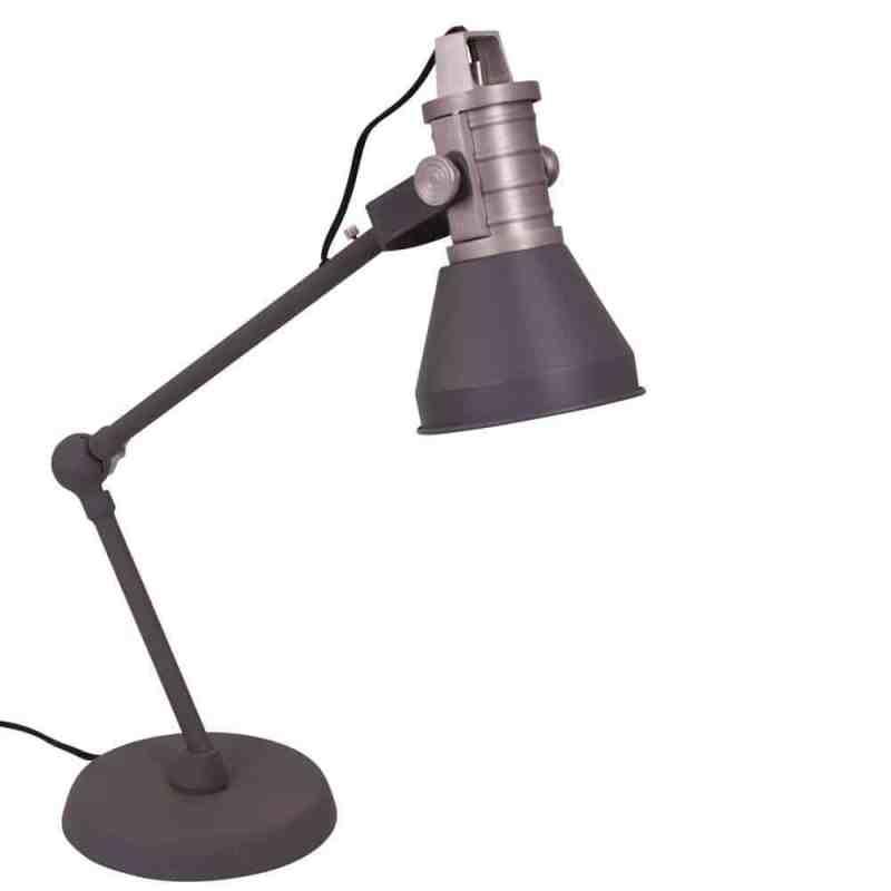Erg leuke en praktische bureaulamp van Anne Lighting | verkrijgbaar in blauw en antraciet | www.homeseeds.nl