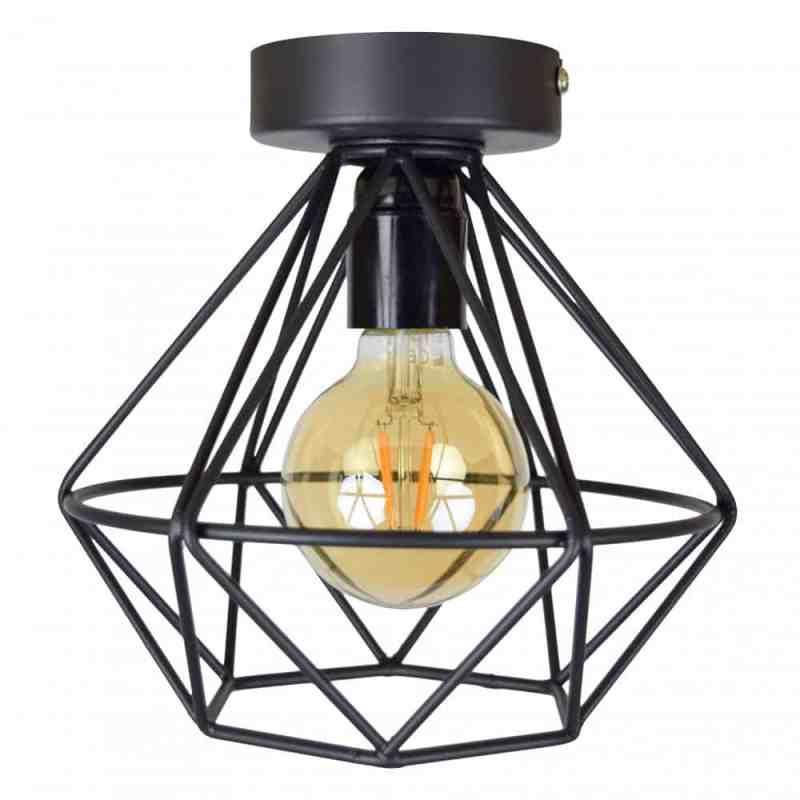 Urban Interiors Wire Plafondlamp   Geometrische lamp van draadstaal   Homeseeds.nl