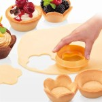 Flower and Round Crust Mold Pastry Cup Maker