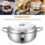Stainless Steel Telescopic Folding Basket Frying Basket French Fries Degreasing Kitchen Tool