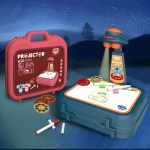 Children's  Drawing Machine Projection Suitcase