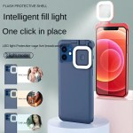 Night Selfie Phone Case For Phone Shockproof Slim Built-in Battery Live Beautifying Light Cover