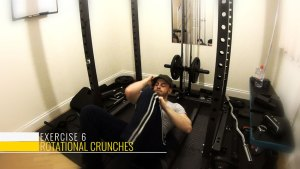 rotation crunches