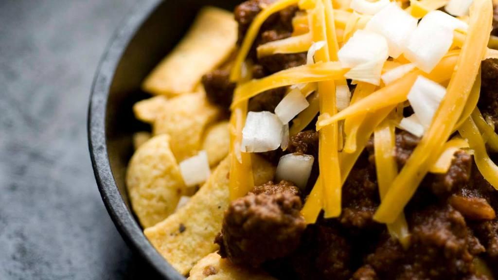 Frito pie with one-hour Texas chili | Homesick Texan