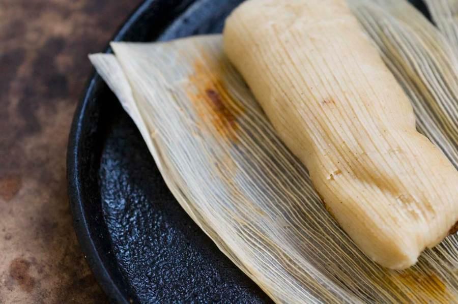 Turkey tamales with guajillo-cranberry mole | Homesick Texan