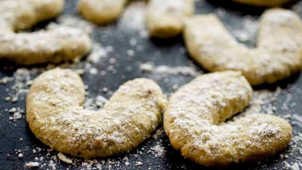 Pepita-lime crescent cookies | Homesick Texan