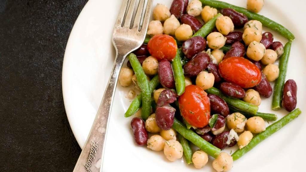 Three-bean salad with dill dressing   Homesick Texan