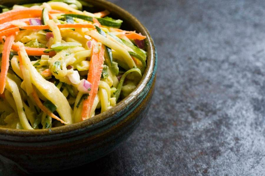 zucchini slaw | Homesick Texan