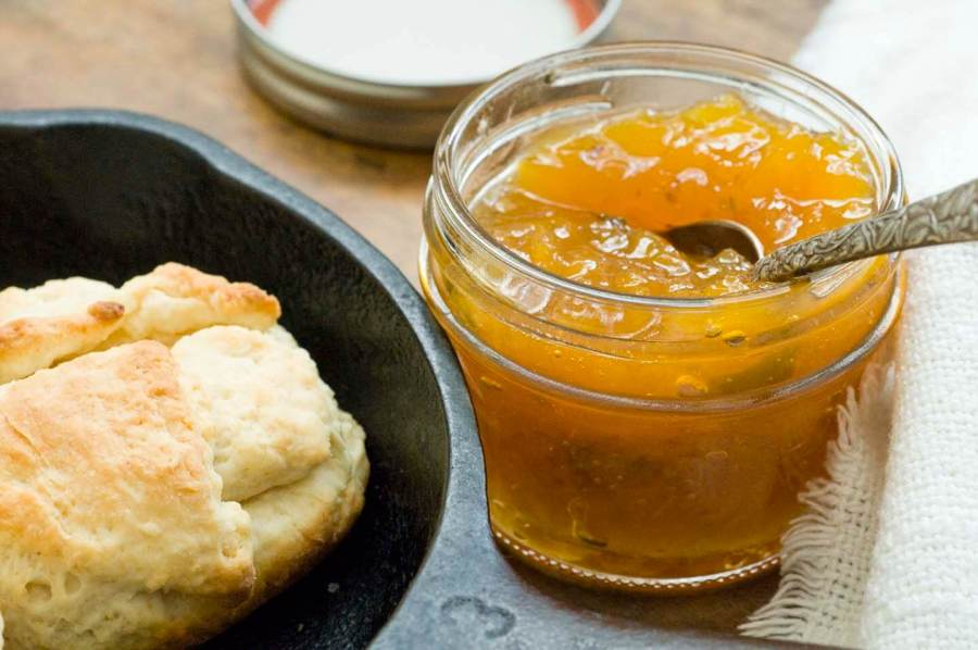Peach jalapeno jam | Homesick Texan