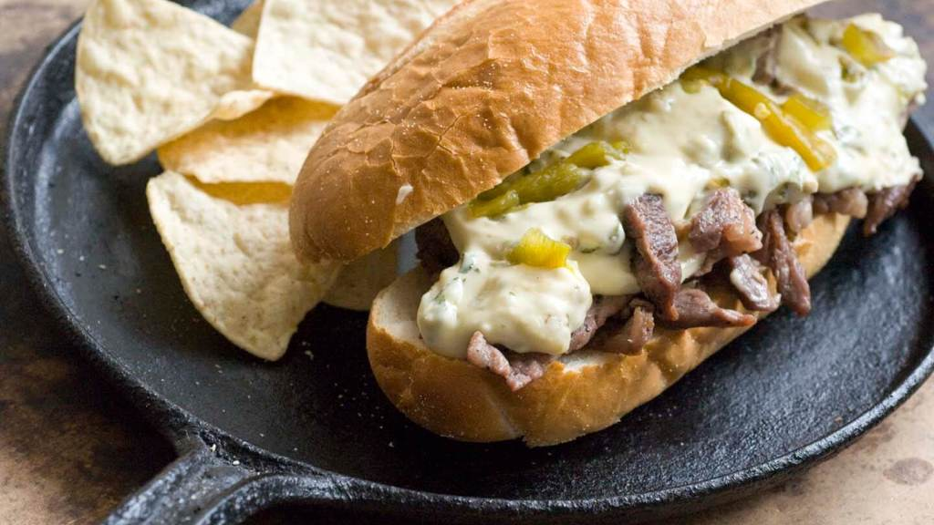 Green chile cheese steak | Homesick Texan