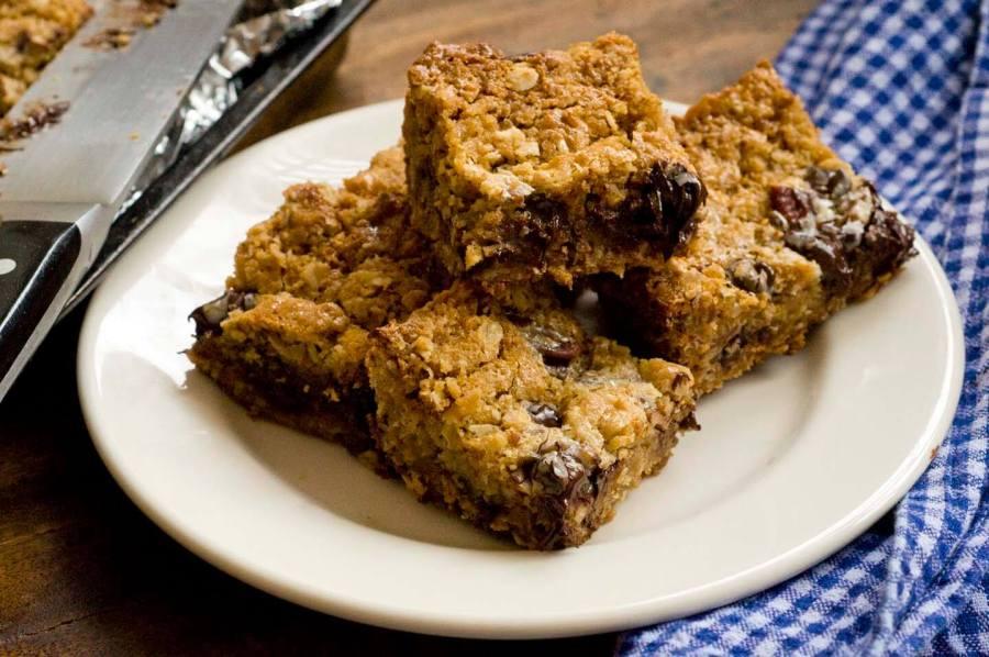 chocolate pecan sticky bars | Homesick Texan