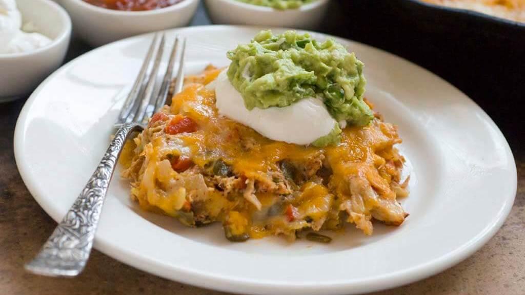 chicken tortilla casserole | Homesick Texan