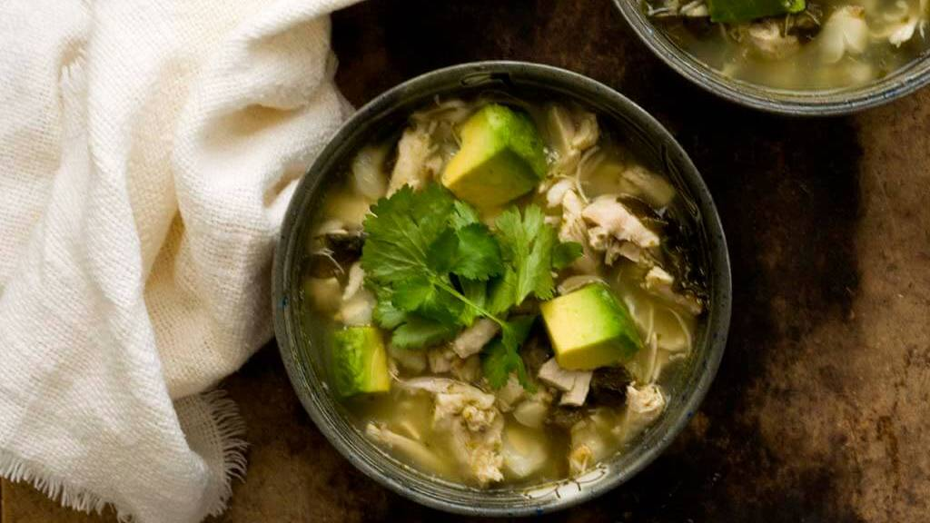 Chicken posole verde | Homesick Texan