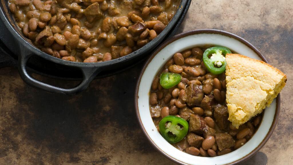 Pinto beans and sausage | Homesick Texan