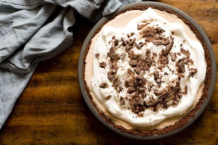 Mexican coffee ice cream pie | Homesick Texan