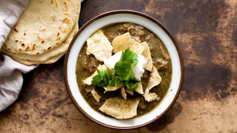 Chile verde con carne | Homesick Texan