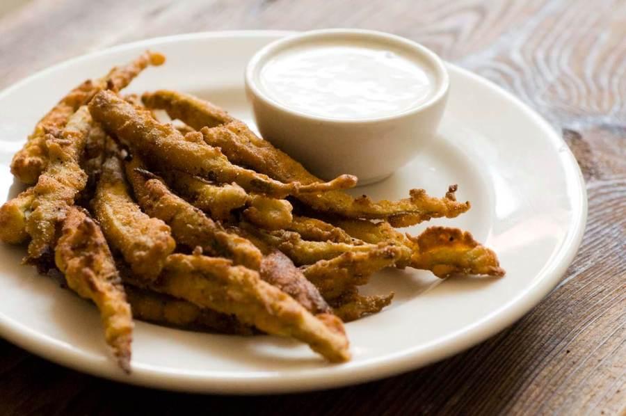 Fried pickled okra | Homesick Texan