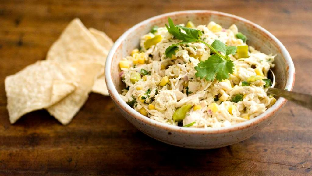 Green chile chicken salad | Homesick Texan