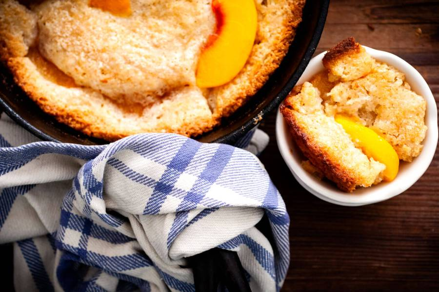 Peach cobbler | Homesick Texan
