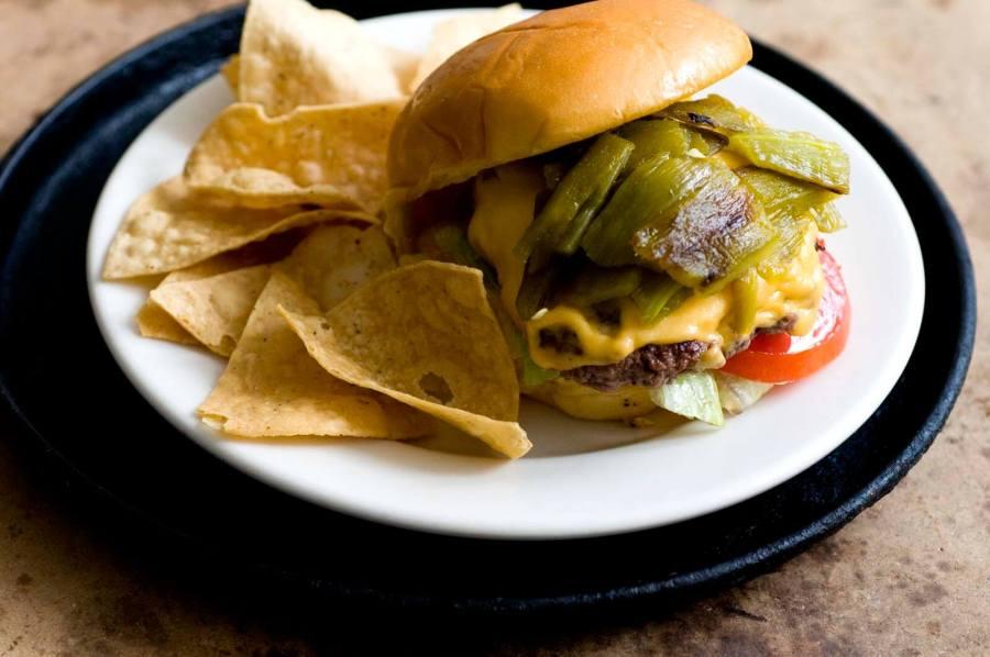 Green chile cheeseburgers | Homesick Texan