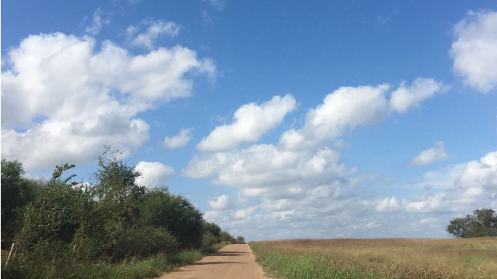 Texas road.   Homesick Texan